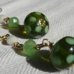 Orecchini_lampwork_verde_2