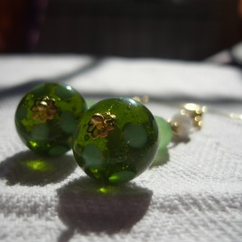 Orecchini_lampwork_verde_5