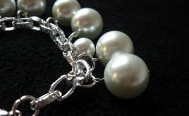 Braccialetto con perle 1