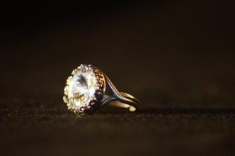 Anello swarovski rotondo cristallo 3