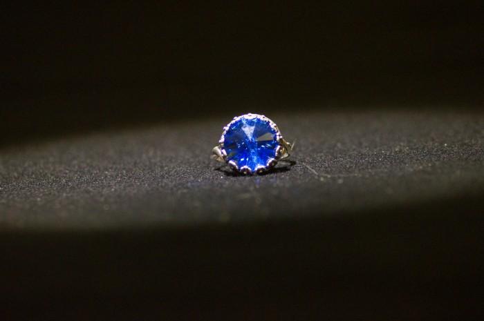 Anello rivoli blu 2