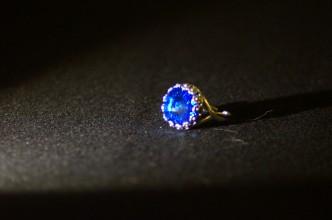 Anello rivoli blu 3