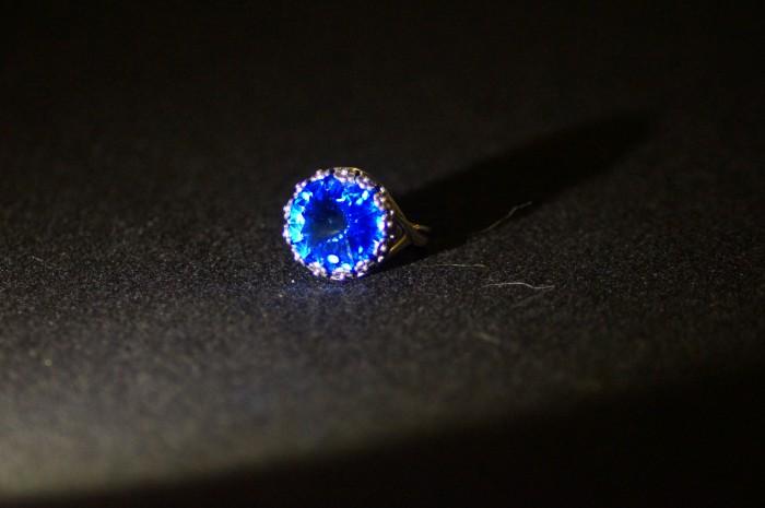 Anello rivoli blu 4