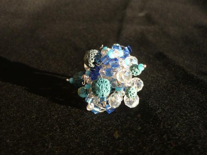 anello lava blu 3