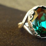 anello swarovski smeraldo 1