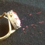 Anello swarovski rosa 5