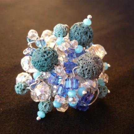 anello lava blu 2